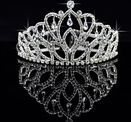 cheap -Crystal / Fabric / Alloy Tiaras 1 Wedding / Special Occasion / Party / Evening Headpiece