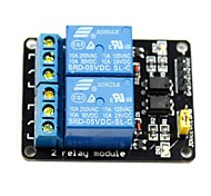 cheap -2 Channel 5V High Level Trigger Relay Module for (For Arduino) (Works with Official (For Arduino) Boards)