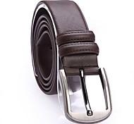 Мужская Мода Новые Плитка Линии Досуг кожаный пояс