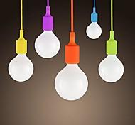 Недорогие -sl® мини подвеска, 1 свет, современный минималистский силиконовые краски конфеты