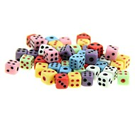 cheap -Colorful Super Mini Gaming Dice Toy (50-Pack)