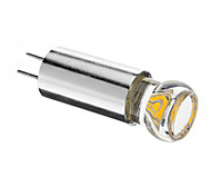 1.5W G4 LED Spotlight 1pcs COB 120lm Warm White 3000K DC 12V