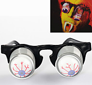 cheap -Scary Eyeball Dropping Eyeballs Glasses Cosplay&Practical Joke Prop
