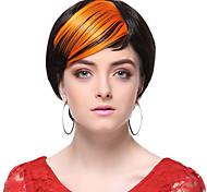 Недорогие -Короткие 4 дюймы Наращивание волос Классика 1 Классика Повседневные Высокое качество