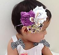 Детские Детские малышей Девочки Мальчики эластичный головной ремень цветок украшения волос лента для волос Нью-