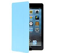 Недорогие -Для со стендом Оригами Кейс для Чехол Кейс для Один цвет Твердый Искусственная кожа для Apple iPad Mini 4 iPad Mini 3/2/1