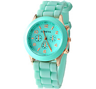 Women's Watch Quartz Fashion Silicone Strap Cool Watches Unique Watches