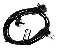 3.5mm + 2.5mm Jack Walkie Talkie Earphone w/ Acoustic Tube for Motorola GP-68/P-040 + More