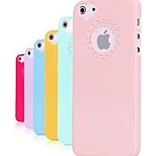 Недорогие -резьба по дереву и услышанным узор форма сплошной цвет жесткий чехол для iphone 5 / 5s
