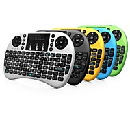 cheap -Rii Mini i8+ 2.4G Wireless 92 Keys Keyboard with Touchpad for Google TV Box/PS3/PC