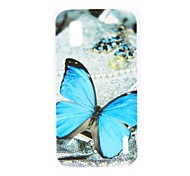 For LG Case Pattern Case Back Cover Case Butterfly Hard PC LG Nexus 4