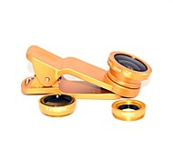 Clip Universal Fisheye Wide Angle Macro Lens for Universal Mobile Phone for iPhone 8 7 Samsung Galaxy S8 S7