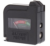 Недорогие -zw-860 1.2v / 1.5v / 9v мини-аналоговый индикатор уровня заряда батареи высокого качества