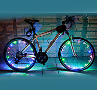 Bike Lights Wheel Lights LED Cycling Waterproof Color-Changing AA Lumens Battery Cycling/Bike-FJQXZ