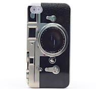 Ретро модель камеры зеркало жесткий футляр для iphone 4 и 4S (многоцветные)