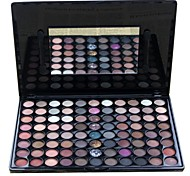 Professional 88 Color Marble Natural Makeup Eye Shadow Palette with Mirror/Brush