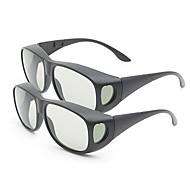 m&k luz polarizada espesar gafas 3D para cine IMAX 3D (2 unidades)