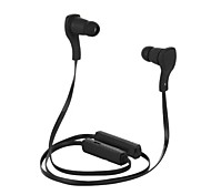 cheap -Headphone Bluetooth V3.0 Neckband Wireless Stereo with Microphone Sports for iPhone 6/iPhone 6 Plus (Black)