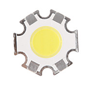 5W COB 450-500LM 6000-6500K fredda Chip White Light LED (15-17V, 300 uA)