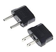 нам с сокетами для ЕС Plug адаптер питания переменного тока вилки + ес гнездо для нас подключите адаптер переменного тока вилку