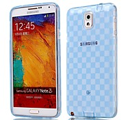Natusun™ Checkered Pattern TPU Soft Case for Samsung NOTE 3 N9000