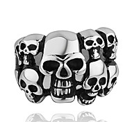 economico -Fashion Many Skull Shape Men's Statement Ring(1 Pc)