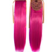 Venta caliente Peny Clips cola del color del pelo de colores Red Bar Comercio al por mayor la extensión del pelo fucsia atractivo lindo
