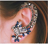 cheap -Women's Ear Cuffs Luxury Fashion Costume Jewelry Rhinestone Alloy Animal Shape Bird Jewelry For Wedding Party Daily Casual