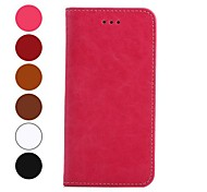 4.7 inch Retro Crazy Horse Grain Leather PU and TPU Full Body Case with Card for iPhone 6 (Assorted Colors)