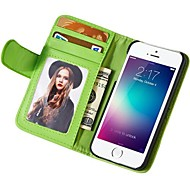 For iPhone 6 Case iPhone 6 Plus Case Case Cover Wallet with Stand Flip Full Body Case Solid Color Hard PU Leather for iPhone 6s Plus
