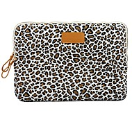 "cheap -14.3"" 15.6"" Canvas Leopard Laptop Cover Shakeproof Case for MacBook DELL ThinkPad for SONY HP SAMSUNG"
