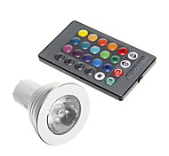 cheap -3W 250-300 lm GU10 LED Spotlight 1 leds Decorative RGB AC 85-265V