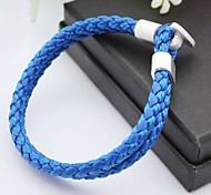 cheap -Men's Leather Bracelet Unique Design Handmade Fashion Leather Others Jewelry Christmas Gifts Party Daily Casual Sports Costume Jewelry