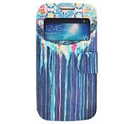 Маховик Масляная краска Цветные рисования шаблон PU кожаный чехол всего тела для Samsung S4 Mini I9190