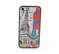 Eiffel Towel Style Protective Back Case for iPhone 5C