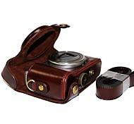 cheap -Dengpin® Leather Protective Camera Case Bag Cover with Shoulder Strap for Sony DSC-HX50V HX60 HX50 HX30 HX10 LCJ-HN