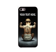 cheap -Personalized Case Boy Design Metal Case for iPhone 5/5S