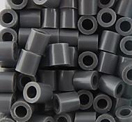 Недорогие -около 500 шт / мешок 5мм серые предохранителей бисер Hama бисер DIY головоломки Ева материал Сафти для детей ремесла