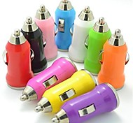 cheap -Colorful Mini USB Car Charger for iPod iphone 8 7 Samsung S8 S7 3G 3GS 4 4S 5 5S