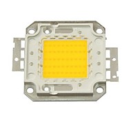 50W 4500LM 3000K Warm White LED Chip(30-35V)