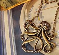 Women's Octopus Retro Long Necklace