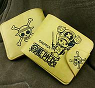 preiswerte -Tasche / Geldbörsen Inspiriert von One Piece Tony Tony Chopper Anime Cosplay Accessoires Geldbeutel Gelb PU Leder Mann