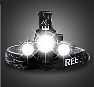 Headlamps Bike Lights Front Bike Light Headlight LED Cree T6 Cycling Rechargeable 18650 3000 Lumens Battery Camping/Hiking/Caving