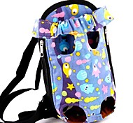 Cat Dog Carrier & Travel Backpack Front Backpack Pet Baskets Cartoon Portable Breathable Gray Yellow Red Blue Blushing Pink