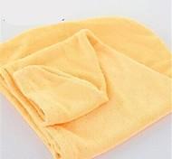 Удобное полотенце для волос (случайный цвет)