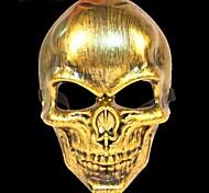 Скелет воин 3 пластик фантазии платье партии Хэллоуин маска (случайный цвет)