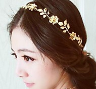 cheap -Women's Floral Basic Flowers Alloy Headband