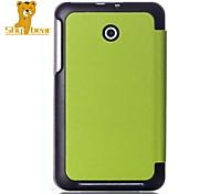 """застенчивый медведь ™ oroginal умный кожаный чехол чехол для ASUS блокнотом 7 me176c 7 """"дюймовый планшет"""