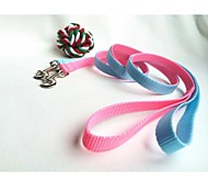 cheap -Cat Dog Leash Waterproof Nylon Blue Pink