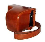 dengpin® пу камера кожа масло кожа сумка крышка с плечевым ремнем для Sony A6000 ILCE-6000L a6000l NEX-6